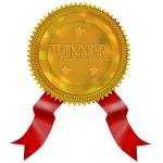 Gold Seal Red Ribbon Winner